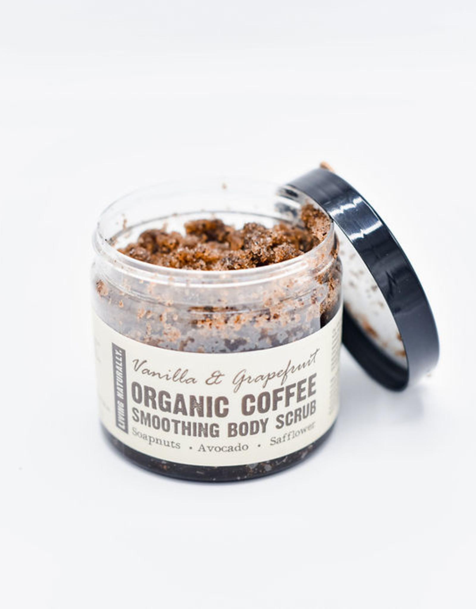 Living Naturally Coffee scrub