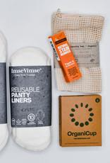 Zero waste period essentials