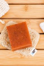 Soap pad luffa