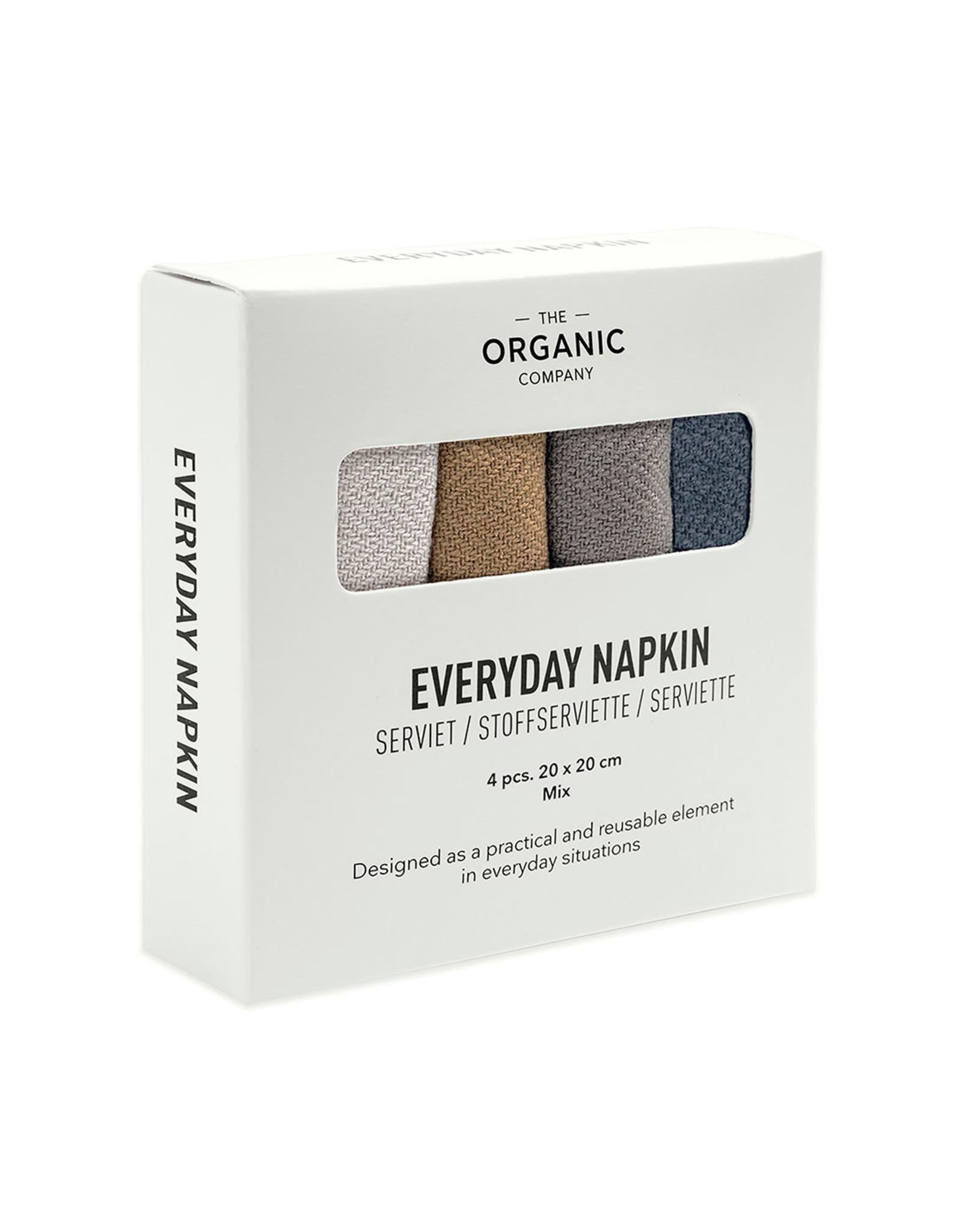 Reusable napkins 4pc