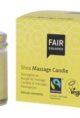 Fairsquared Shea massage candle
