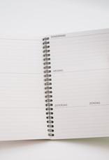 Reusable weekplanner