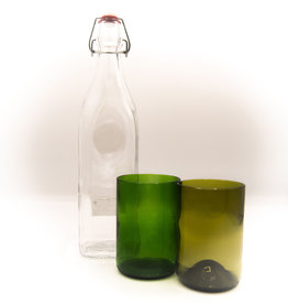 Ecodis Glass lemonade bottle