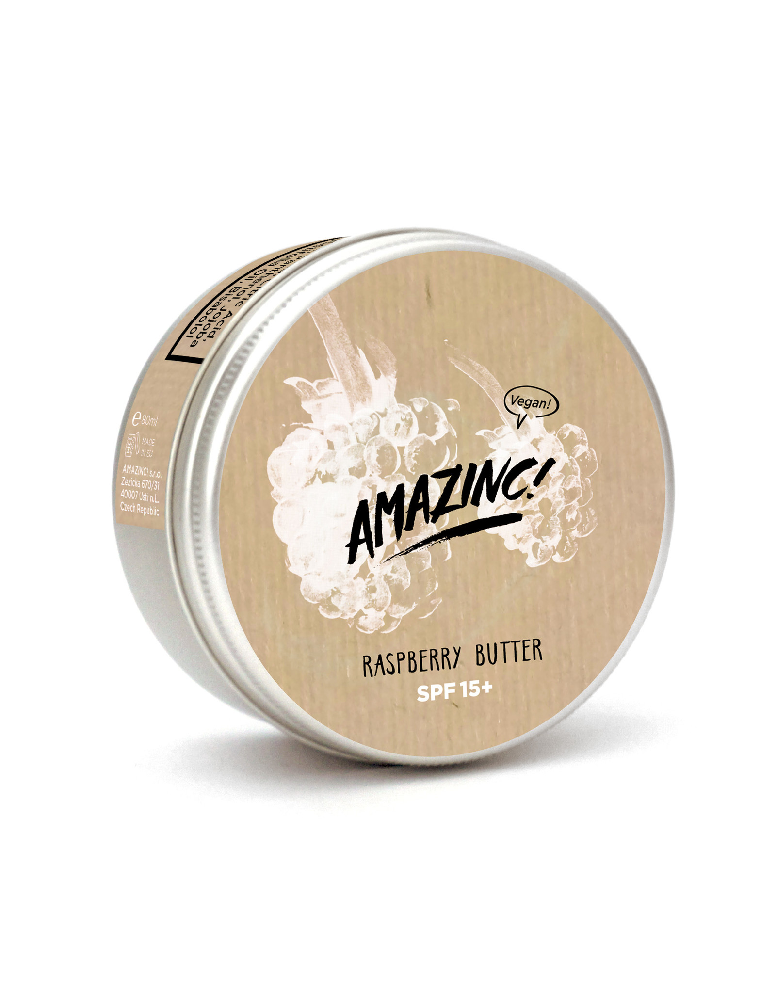Amazinc Raspberry butter  15+ 150ml