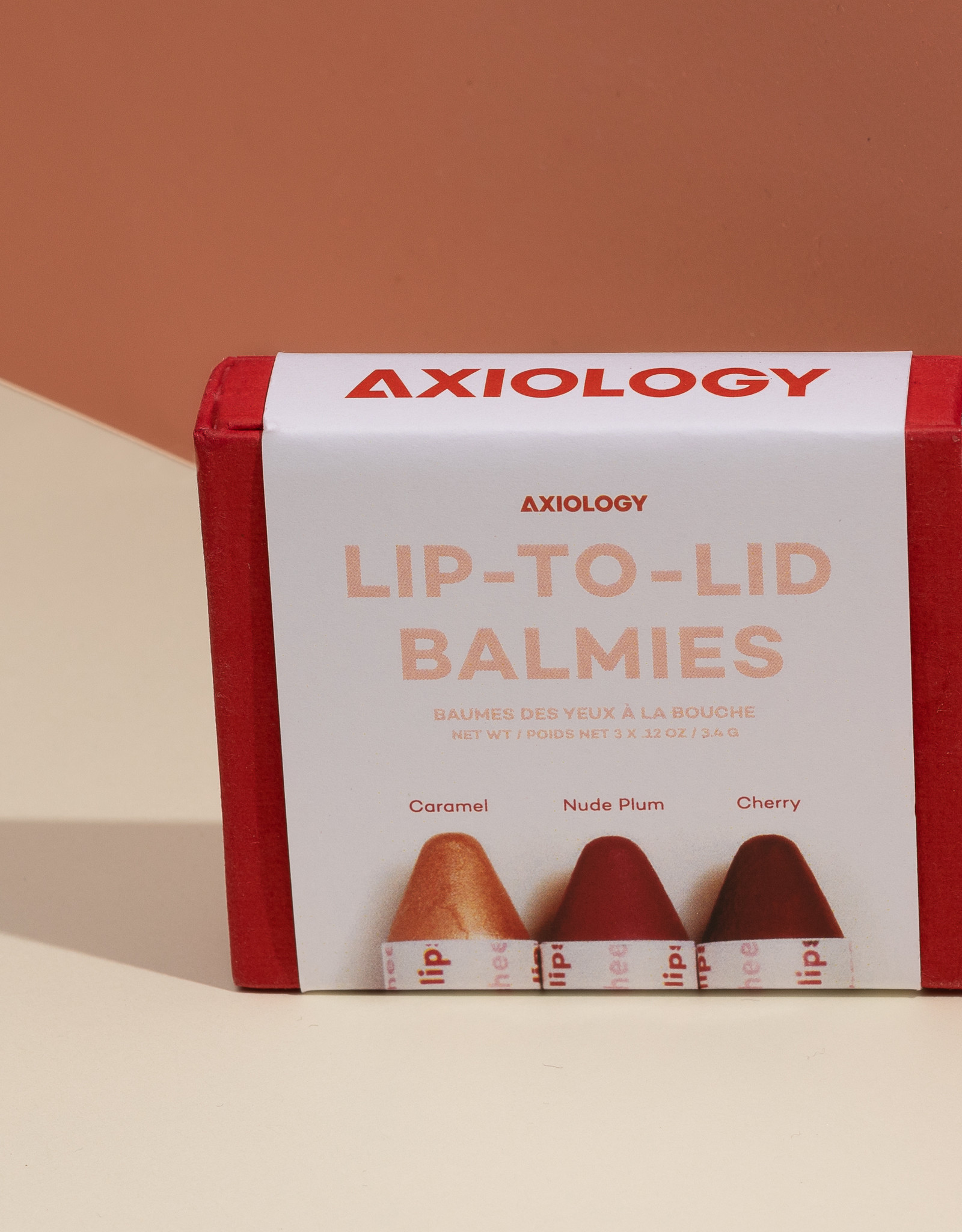 Axiology Lip-to-lid balmies: Of The Earth