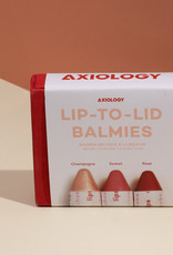 Axiology Lip-to-Lid Balmies Cotton candy skies
