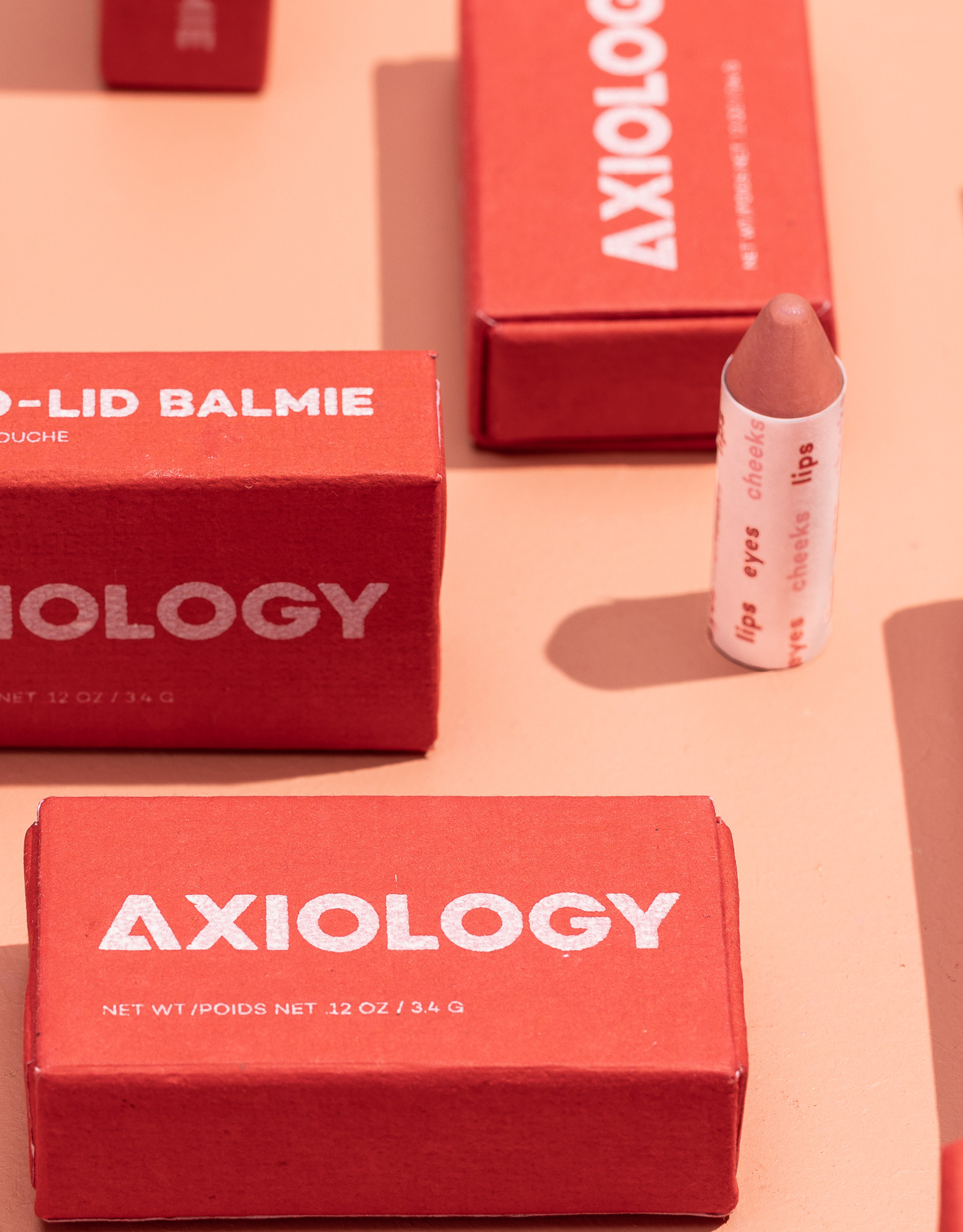 Axiology Make up balmie: Champagne
