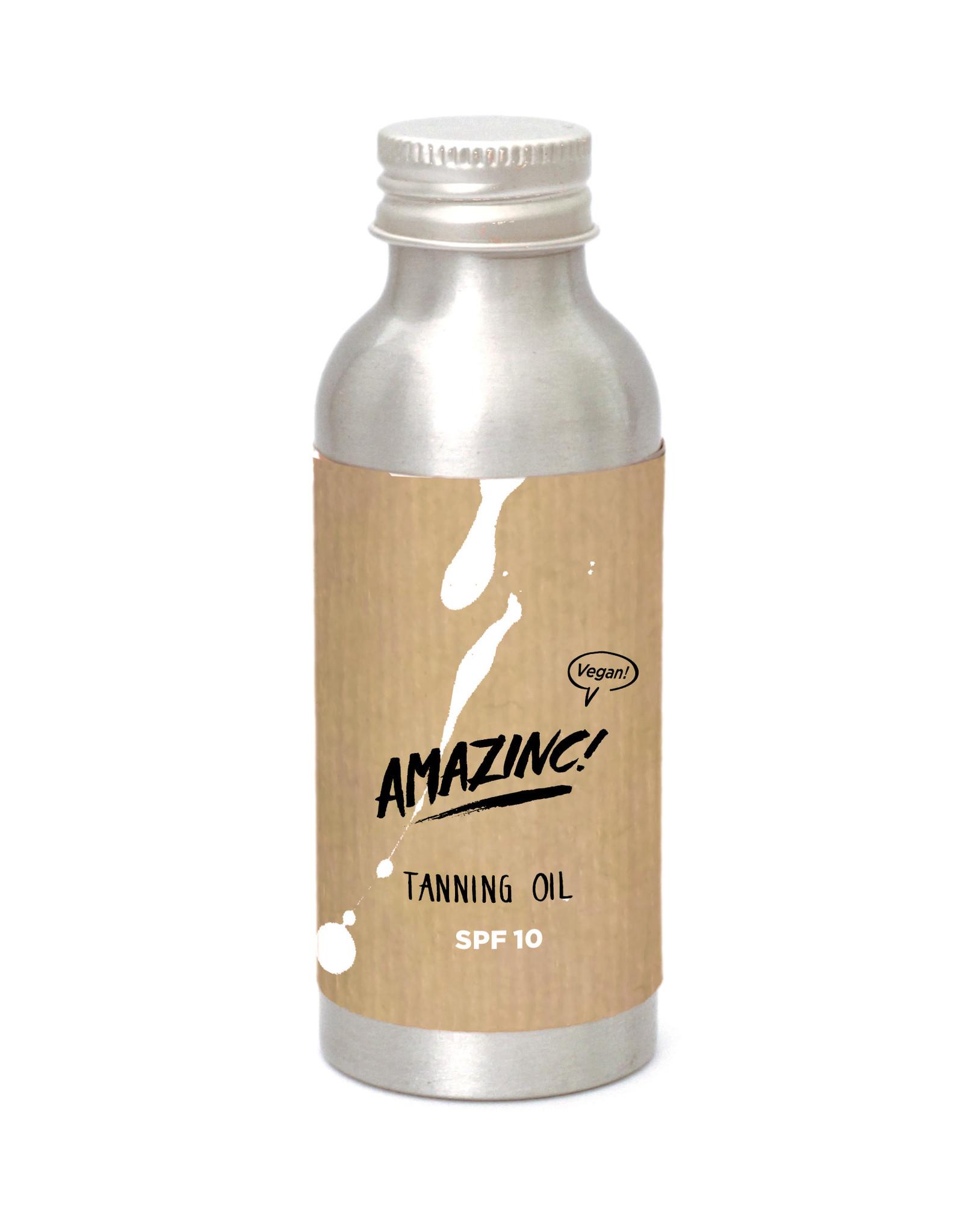Amazinc Tanning oil SPF10+