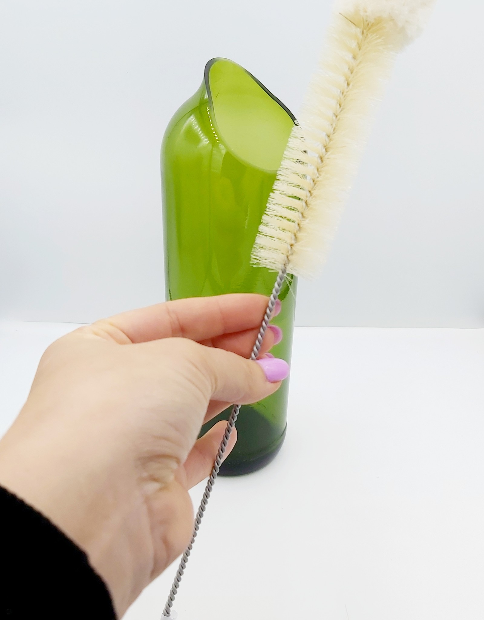 Redecker Reinigingsborstel met wollen kop