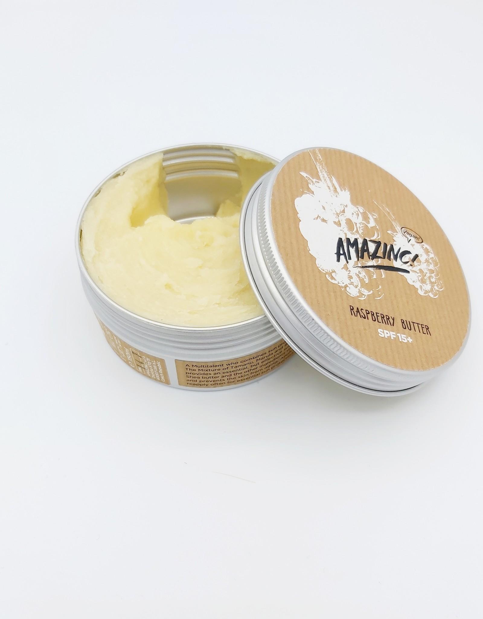 Amazinc Raspberry butter  SPF15+