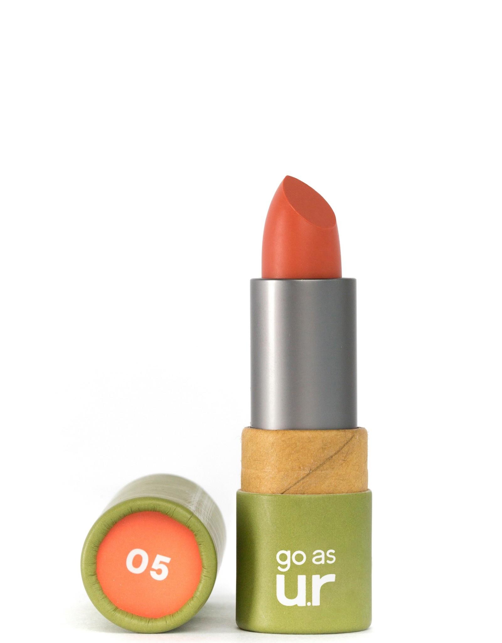 Go as ur Vegan Lipstick Poppy pink