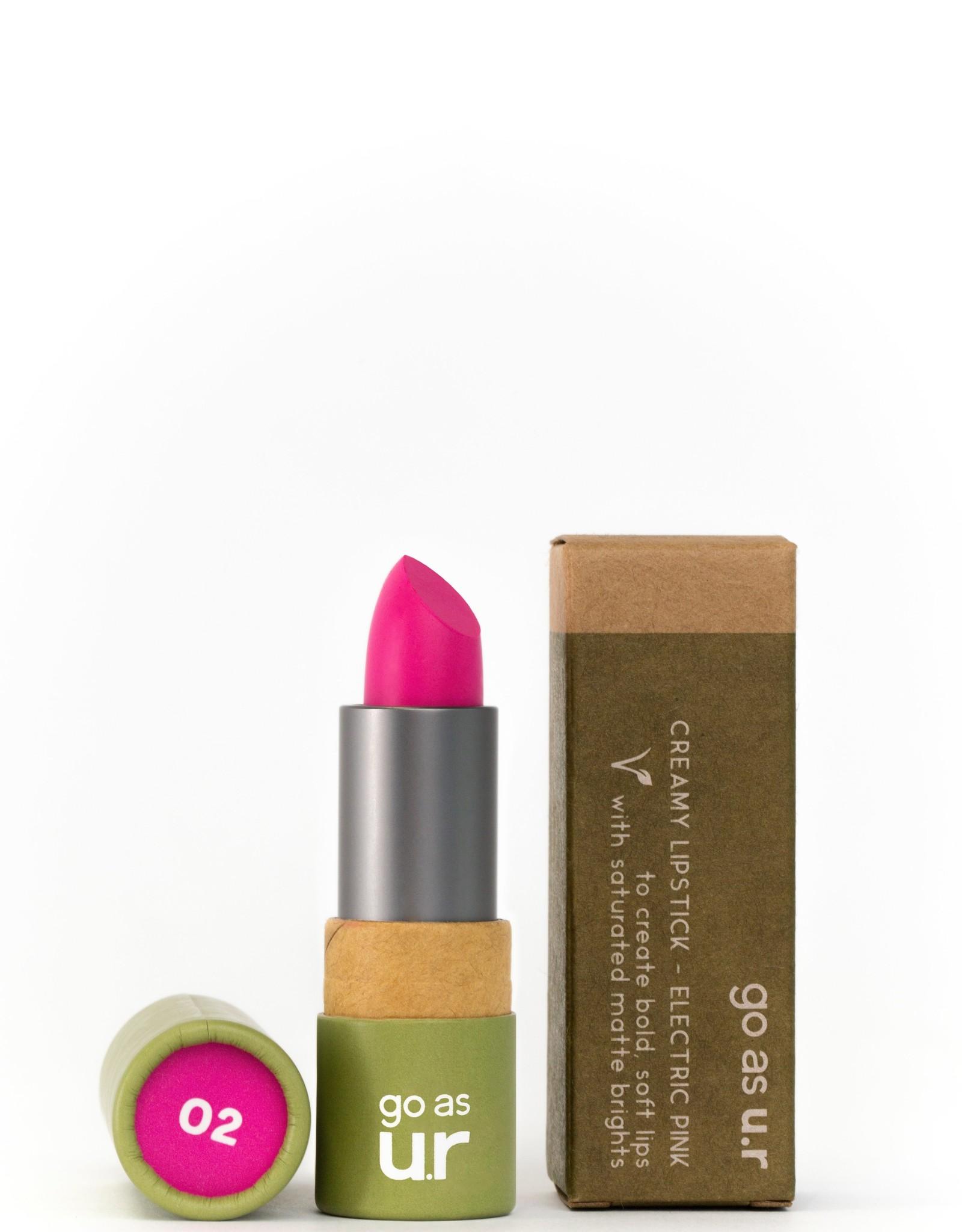 Go as ur Vegan Lipstick Electric Pink