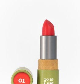Go as ur Vegan Lippenstift  Adrenaline Red