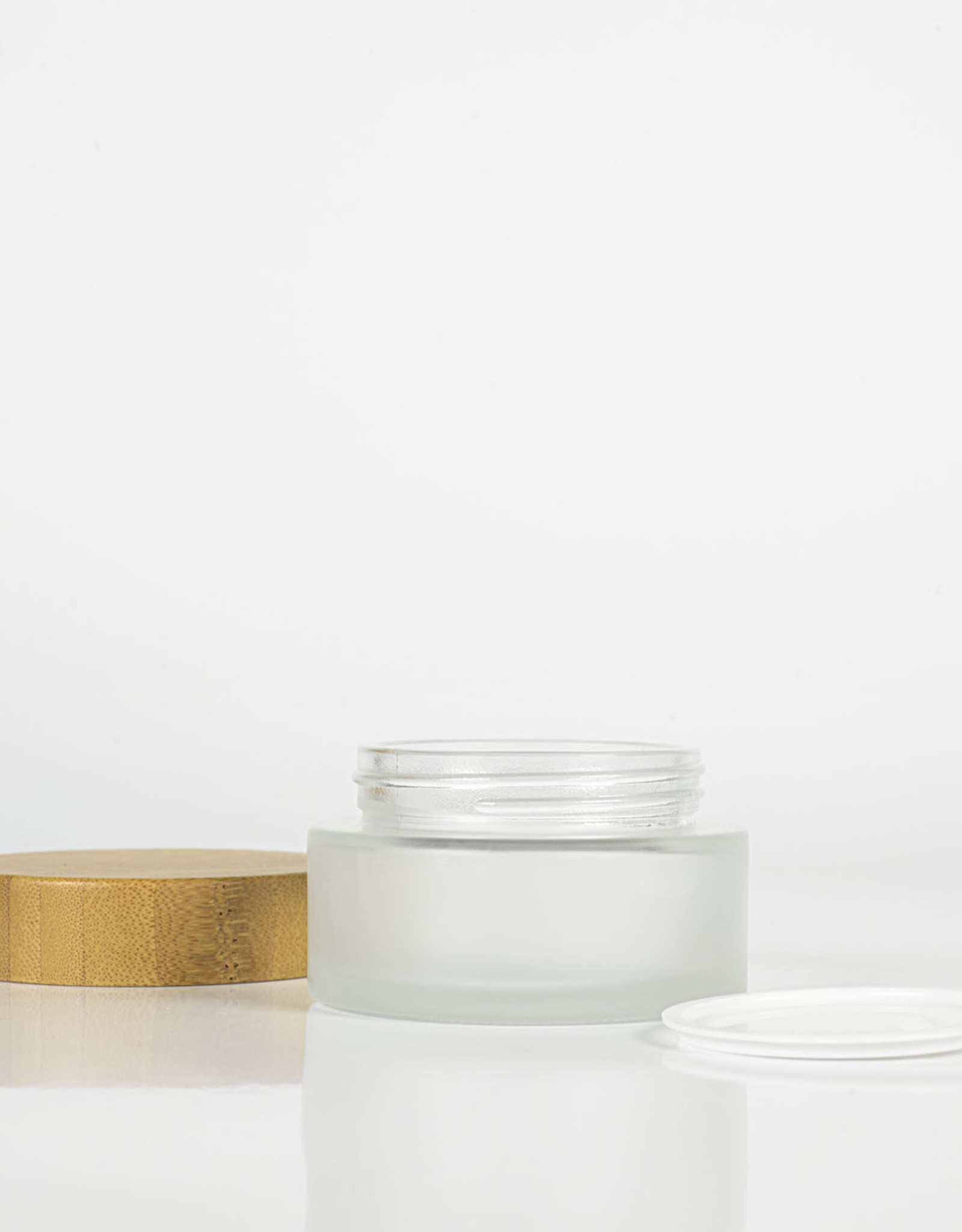 MarionMaakt Glass jar with bamboo lid