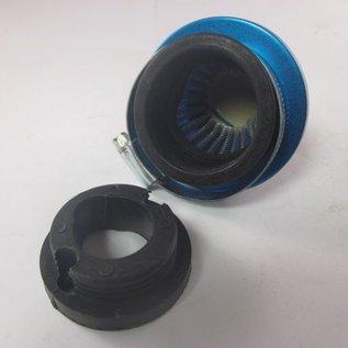Sendai Power Ufo luchtfilter met adapter (40mm, voor 12mm carburateur) (25L1)