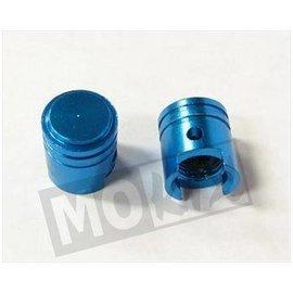Sendai Ventieldop aluminium in kleur zuigervorm (2 stuks)