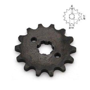 Sendai 4-takt Voortandwiel type: 420 ketting 17mm as - Copy - Copy - Copy - Copy - Copy - Copy - Copy