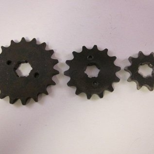 Sendai 15 tands Voortandwiel type: 520 ketting 20mm as