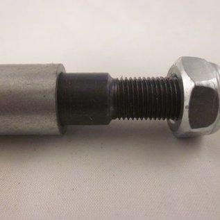 Mini-crosser voor-as 15.5cm 12mm