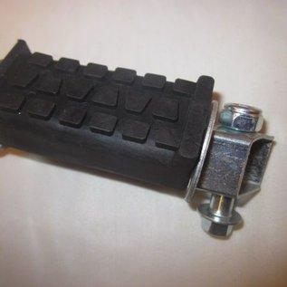 Mini-crosser voetsteunen set inklapbaar met rubber