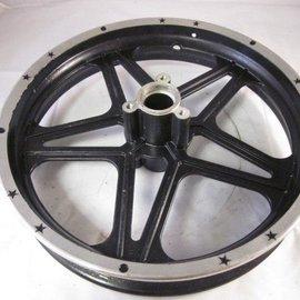 Sendai Voorvelg Mini-Crosser Aluminium 10inch zilver/zwart