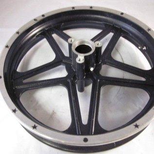 Sendai Achtervelg mini-crosser 10 inch zilver/zwart