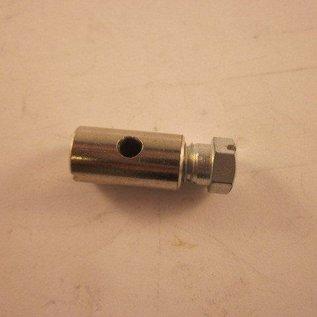 Sendai Gas/rem/koppel nippel (GROOT) 6x15mm