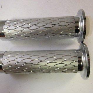 Sendai Universeel Gashandvat+handvat chroom/zilver
