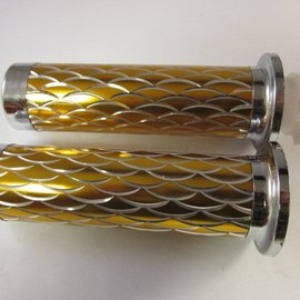 Sendai Universeel Gashandvat handvat chroom/goud (9J2)