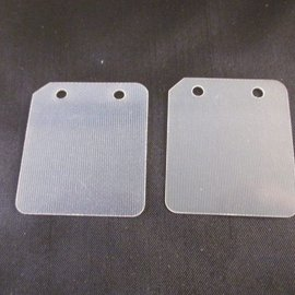 Sendai Membraan plaat set fiberglass 49cc watergekoeld (KA8)