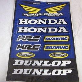 Sendai Honda stickerset 31mm x 41mm