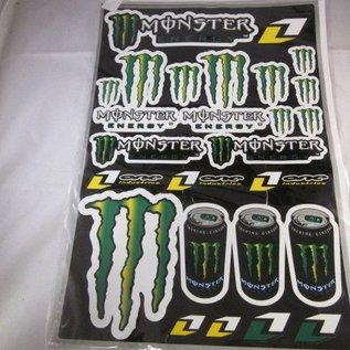 Monster stickerset 31MM x 41MM