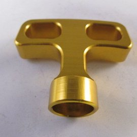 Sendai Trekstarter hendel aluminium goud (KA100)