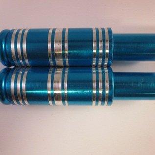 Sendai Voetsteunen blauw aluminium (16C5)