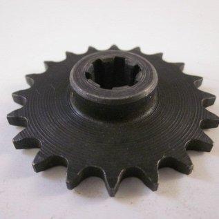 Sendai 47/49cc Mini-Crosser voortandwiel (11mm as, 25H)