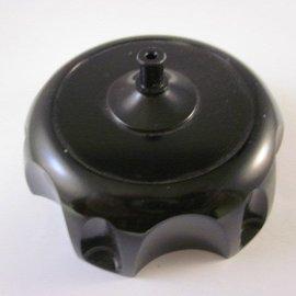 Sendai Tankdop CNC aluminium zwart