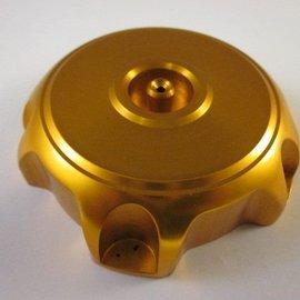 Sendai Tankdop CNC aluminium goudkleur