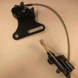 Sendai Achterrem hydraulisch voetpendaal crosser/pitbike (11C3)
