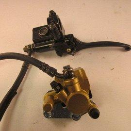 Sendai Bremssattel vorn Hydraulikhebel Kabel 44mm
