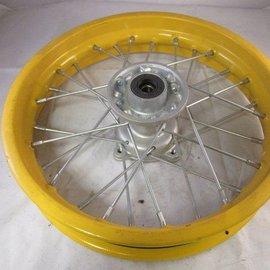 Sendai 12 inch voorvelg geel (schijf)
