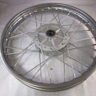 Sendai 14 inch voorvelg zilver/chroom
