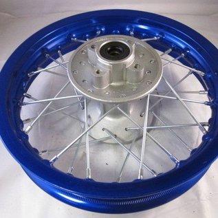 Sendai 12 inch achtervelg aluminium blauw