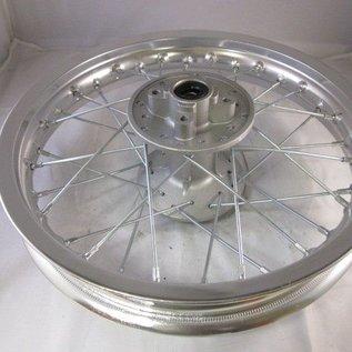 Sendai 12 inch achtervelg aluminium zilver