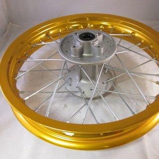 Sendai 14 inch achtervelg aluminium goud