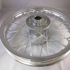Sendai 14 inch achtervelg aluminium zilver