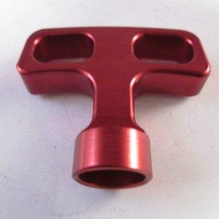 Sendai Universeel Trekstarter hendel aluminium rood (KA101)