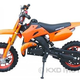 Sendai Minicrosser 49cc KXD 2013 oranje