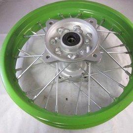 Sendai 12 inch achtervelg groen 1.85x12
