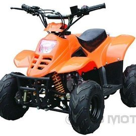 Sendai Quad 4-takt 125cc Bigfoot rood