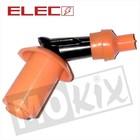 A-Merk Bougie dop rubber zwart/oranje GY6